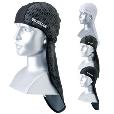 ヘルメットインナーとしても使える接触冷感のネックガード