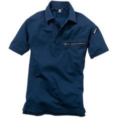 夏用の半袖ポロシャツ。JIS T8118適合の製品制電。TS DESIGN(藤和)81355