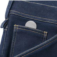 右脇ポケット内にコインポケット