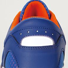 ジーベック安全靴 85406 かかとの反射材