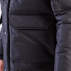 両脇ウォームアップポケット