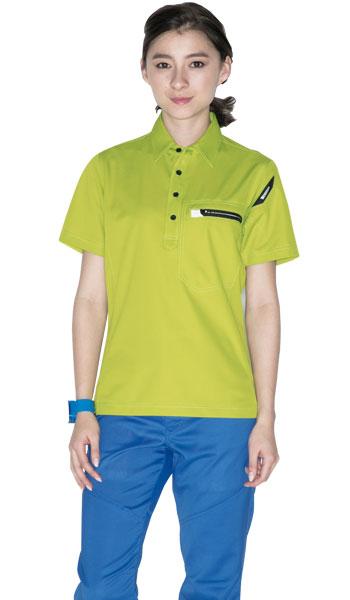 TS DESIGNの春夏用制電ポロシャツ