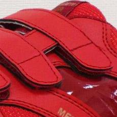 喜多安全靴 履きやすいマジックテープ仕様