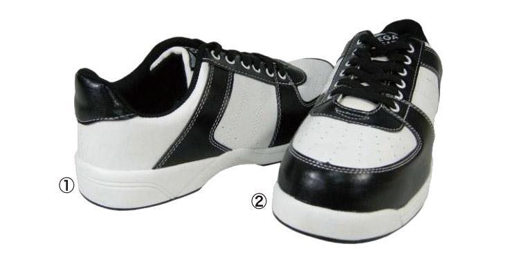 軽量ソールの安全靴詳細 MK7730