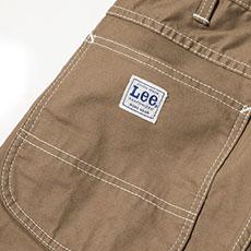 補強布付きの後ろポケット