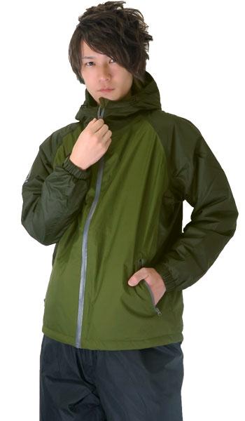 防水防寒ジャケット・モデル着用画像