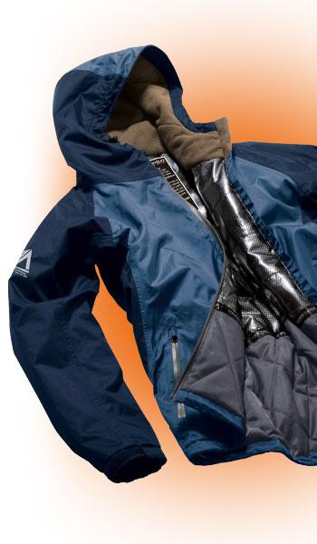 保温力に優れた防水防寒ジャケット