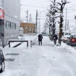 歩道の雪掻きをしようよ!