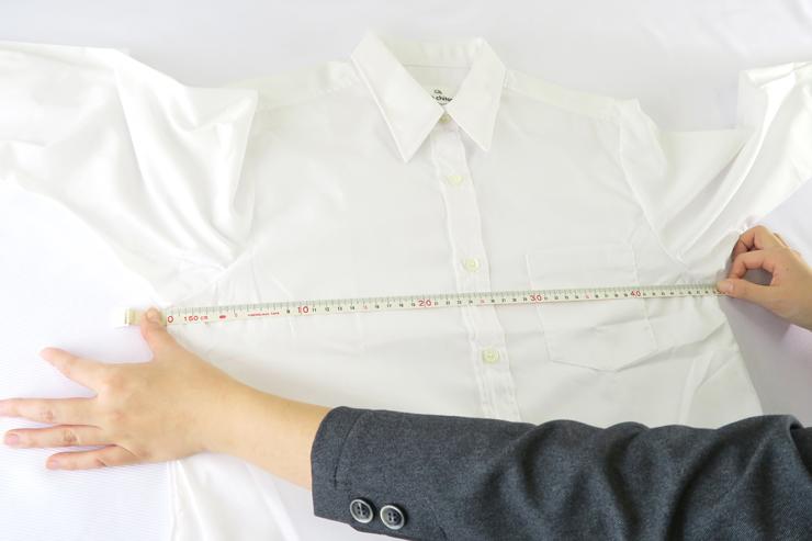 シャツ胸囲
