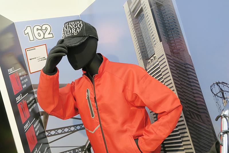 ジーベックの162シリーズは軽量でかっこいい作業服