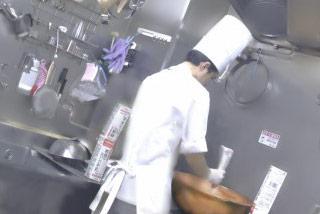 料理長を見つけやすい