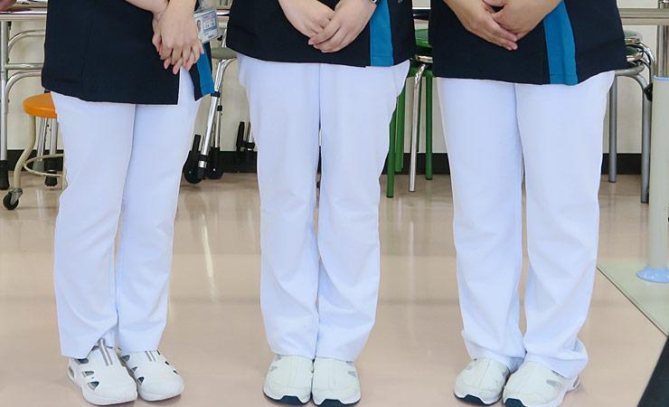 白パンツ 76-6007EW