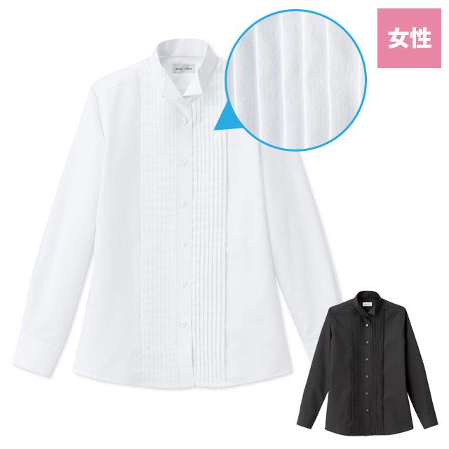 ピンタックウィングカラーシャツ(34-FB4040L)