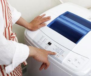 コックコートを洗濯機で洗う
