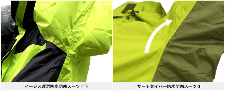 サーモセイバー防水防寒スーツⅡ【アクションカット】
