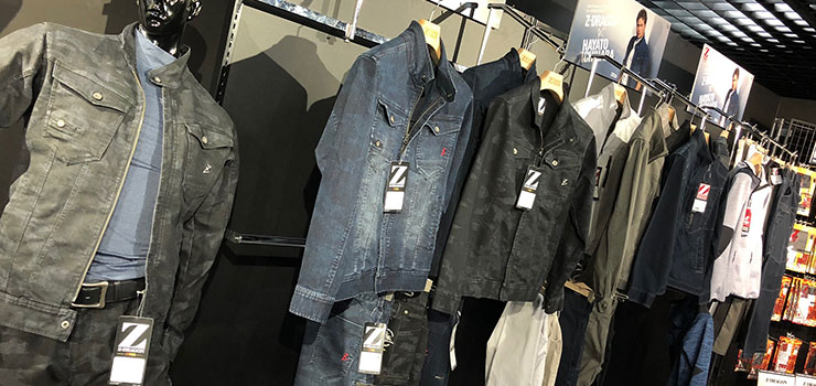 Z-DRAGONの最新デニム作業服