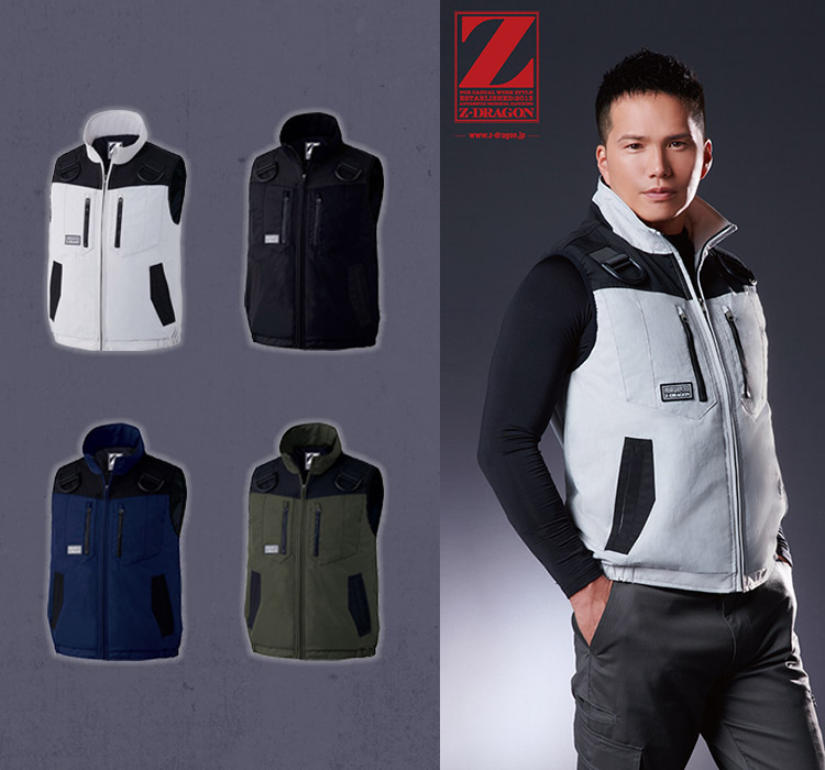 Z-DRAGON 防寒ベスト 01-78040
