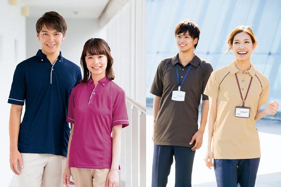 介護ポロシャツ イメージ画像