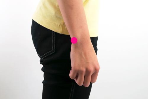 手首の基点