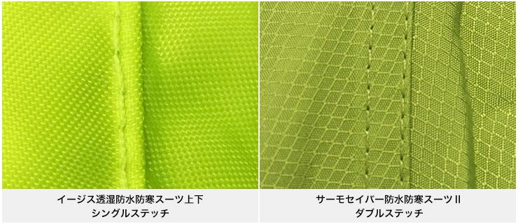 サーモセイバー防水防寒スーツⅡ【縫い方】