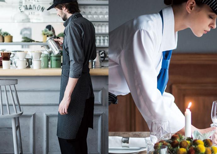 カフェやレストランの店舗イメージ