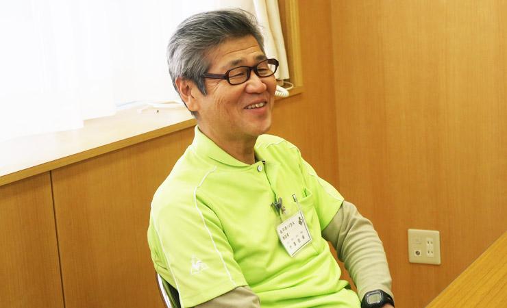 竹澤理事長インタビュー