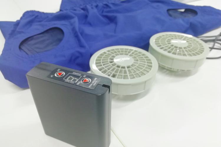 空調服バッテリーの保管方法