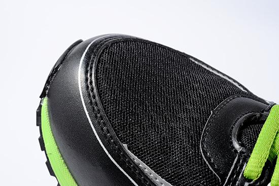 XEBEC(ジーベック)蛍光めちゃ軽安全靴 85130 アッパー素材の画像