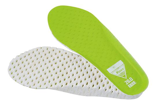 XEBEC(ジーベック)蛍光めちゃ軽安全靴 85130 インソールの画像
