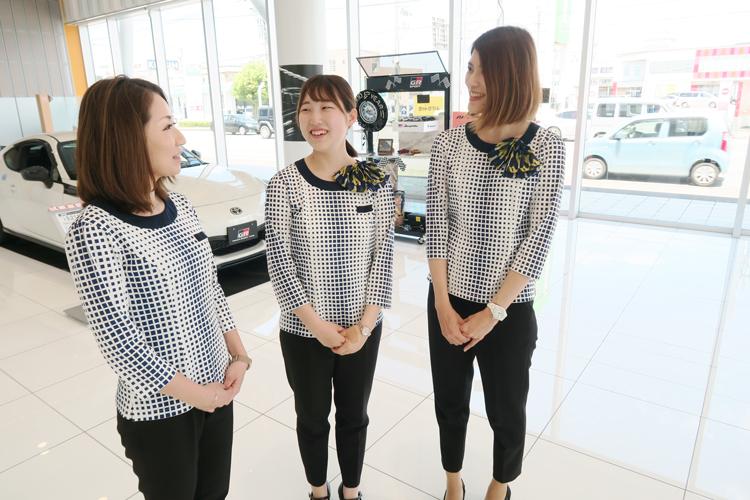 ネッツトヨタ福井 制服リニューアル