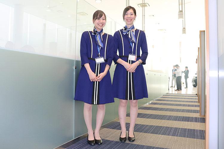 ネッツトヨタ福井 秋冬事務服リニューアル