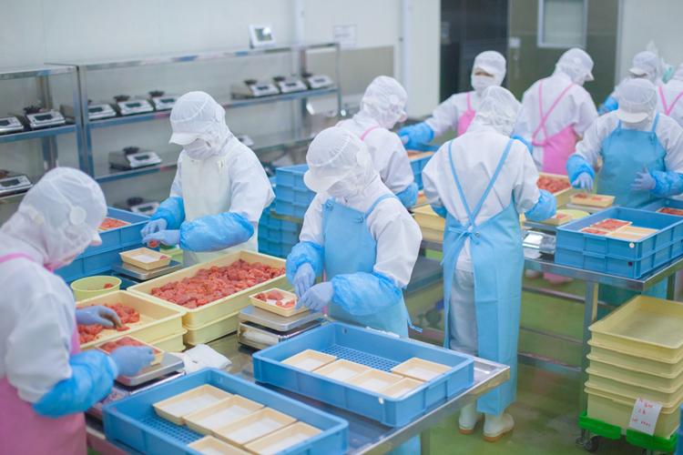 食品工場の暑さ対策 イメージ画像