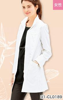 31-CL0189 おしゃれなcalala(キャララ)ドクターコート