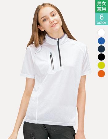 レディースロングポロシャツ 61-10607