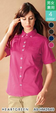 hm2649 ニットシャツ