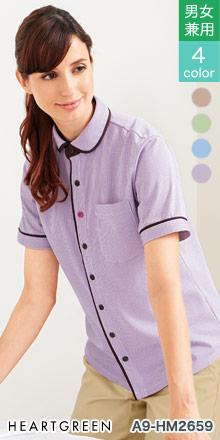 hm2659 ニットシャツ