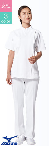 31-mz0070 MIZUNOのレディース白衣用パンツ