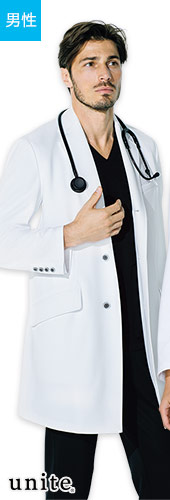 チトセ(unite) メンズ長袖ドクターコート