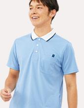 快適素材の介護ポロシャツイメージ