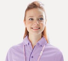 サイドポケット付き便利なポロシャツ