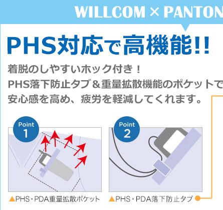 PHS対応で高機能タイトル