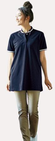 tb4002l ロングポロシャツ