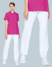 涼しい白パンツ