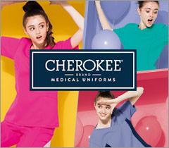 世界NO1スクラブブランドのCHEROKEE(チェロキー) 医療ユニフォーム