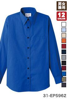 チトセの長袖レギュラーカラーシャツ(31-EP5962)