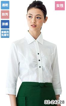 七分袖シャツ(32-24228)