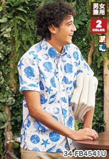 ボンマックスのアロハシャツ(34-FB4541U)
