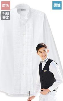 ピンタックウィングカラーシャツ(34-FB5045M)