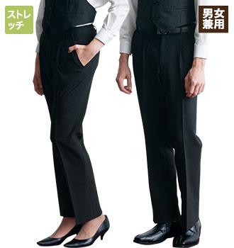 チトセのストレッチ黒パンツ(31-AS6801)