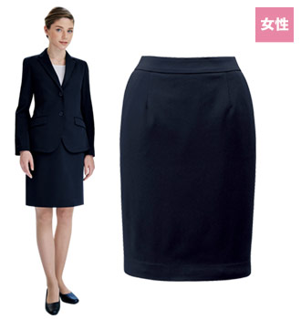 ボンユニのニットスカート[女性用](32-12218)